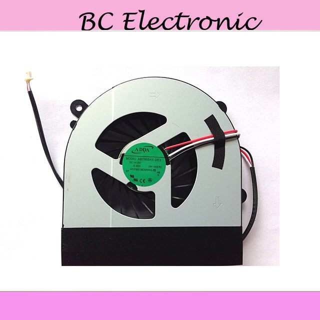 NEW CPU Fan for Clevo W150 W150er W350 W350ETQ W370 laptop CPU Cooling Fan AB7905HX-DE3 6-31-W370S-101 6-23-AW15E-011