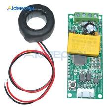 Compteur numérique multifonction, 10 pièces/lot, Module de Test de courant avec bobine pour Arduino 0-100A 80-260V