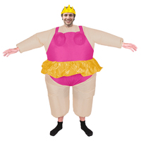2017 Birthday Gift Summer Clothing Funny Fancy Party Dress Inflatable Costume Ballerina Cosplay Halloween Costume For