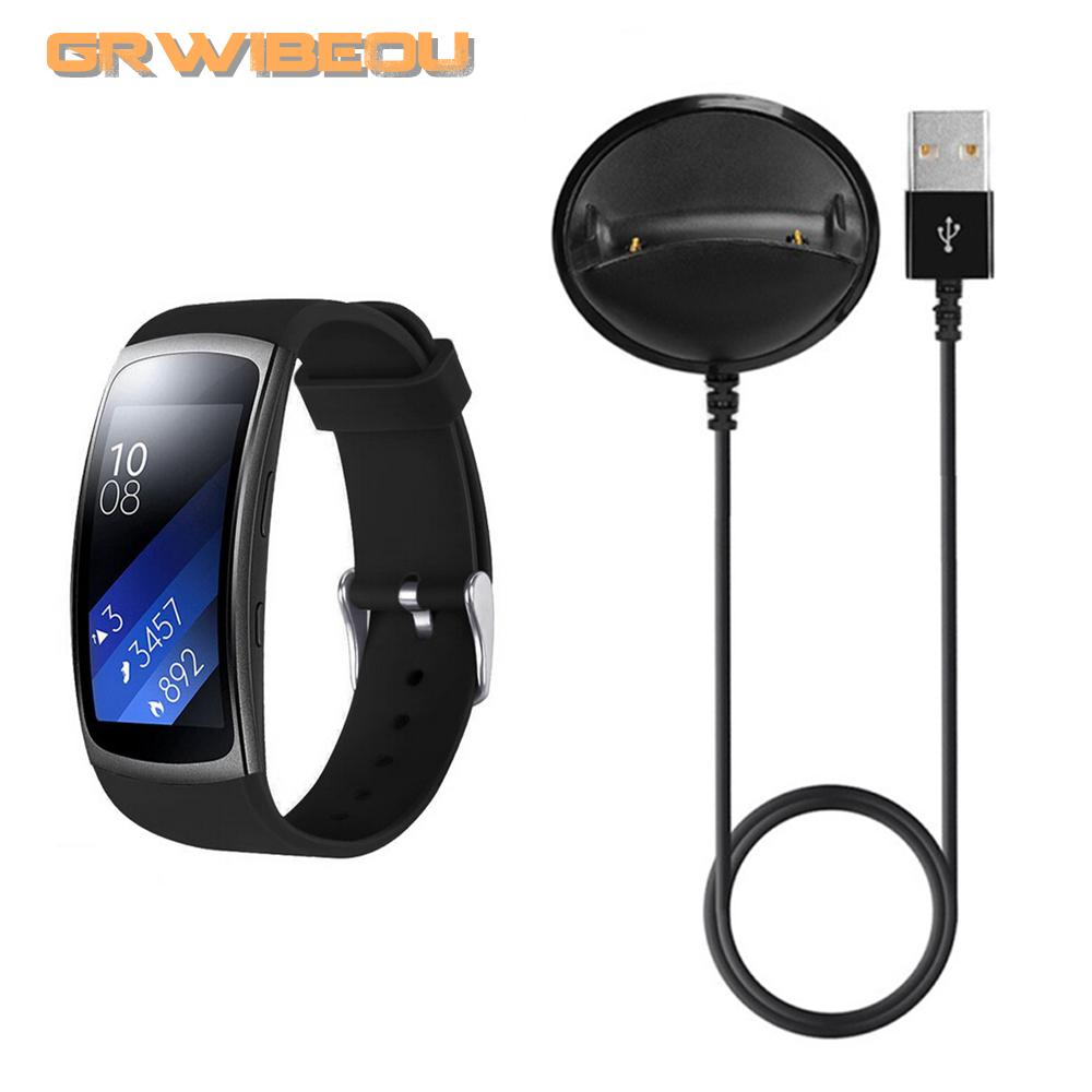 USB Charger Dock Charging Cradle for Samsung Gear Fit2 Pro SM-R360 Smart Watch Cable Cord Charge Base Station for Fit 2 SM R360 awinner usb charger dock station charging cradle