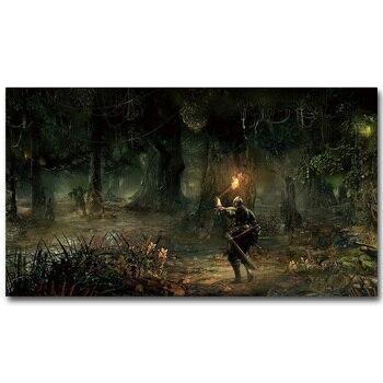 Постер Dark Souls 3 из шелковой ткани с принтом, 13х24-дюймовый хит продаж, игровая картина для гостиной, украшения стен, подарок 044