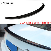W117 AMG style Carbon Fiber Rear Spoiler for Mercedes benz CLA Class Back Rear Duck Wings Lips 2013+ CLA180 CLA200 CLA45