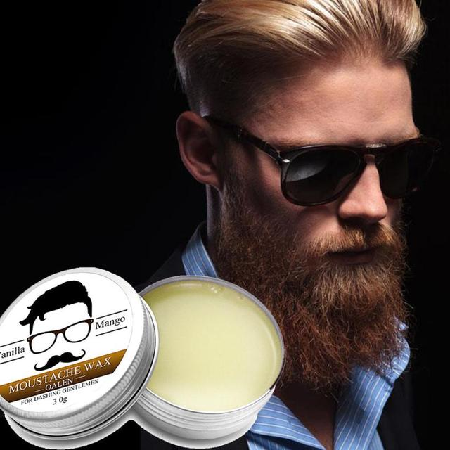 Men Beard Balm Leave Moisturizing Care Cream Beard Care Lubricating Cream 30g AP18