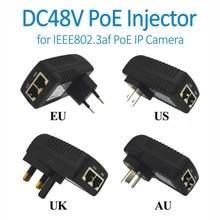 Doerguin настенный разъем POE инжектор с 48 В питание через Ethernet для Hikvision Dahua IEEE802.3af PoE IP камера IP телефон