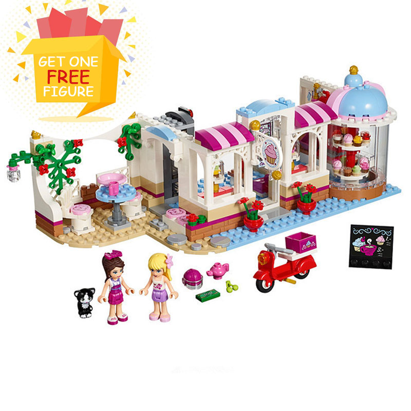 Bela Pogo Compatible Legoe Friends BL10496 Girls Building Blocks Bricks toys for children lepin pogo bela 10609 girls friends heartlake pizzeria models building blocks bricks action figures compatible legoe toys