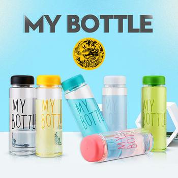 Moja butelka z tworzywa sztucznego 500ml PC butelki na wodę przezroczyste lub matowe odporne na ciepło szczelne kolor podróży niestandardowe butelki tanie i dobre opinie TUODUWUJU Brak TOUR Ce ue Lfgb Zapas rzeczy Nie posiada Hot-005 Direct Drinking Plastic With Lid Dorosłych Butelki wody