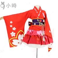 Cosplay Handy-Spiel Onmyoji Kirschblüte Goblin Japanischen Stil Verbesserte kimono Cos Kleidung
