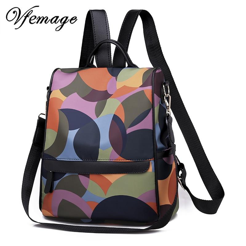 622ea035f91e Новый универсальный рюкзак для женщин непромокаемые Оксфорд женский Anti  Theft школьный рюкзак для девочек 2019 Sac Dos mochila