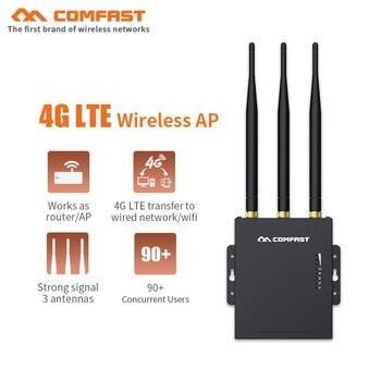 Plug Play Carte Sim 4g 2 4 Go 4g Lte Transfert Vers Reseau Filaire Wifi Pc Telephone Pad Avec 3x5dbi Antennes Routeur Ap Wifi Sans Fil Leather Bag