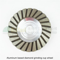 4inch 120 Aluminum Based Diamond Grinding Cup Wheel Bore22 23 16mm Diameter 100mm Grinding Wheel For