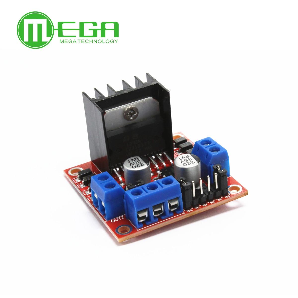 Cf Free Shipping 10pcs L298n Module Dual H Bridge Stepper Motor Pwm Driver Amplifier It Is Such A Complete Hbridge Board Modulessmart Car Fz0407