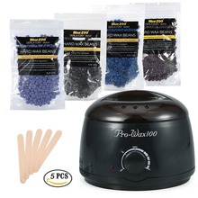 Depilatory Wax Heater Set For Bikini Hair Removal Spa Epilat