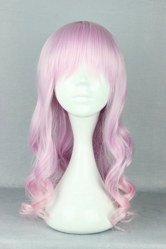 Synthetic None-lacewigs Mcoser 55cm Long Multi-color Beautiful Lolita Wig Anime Wig And To Have A Long Life. Synthetic Wigs