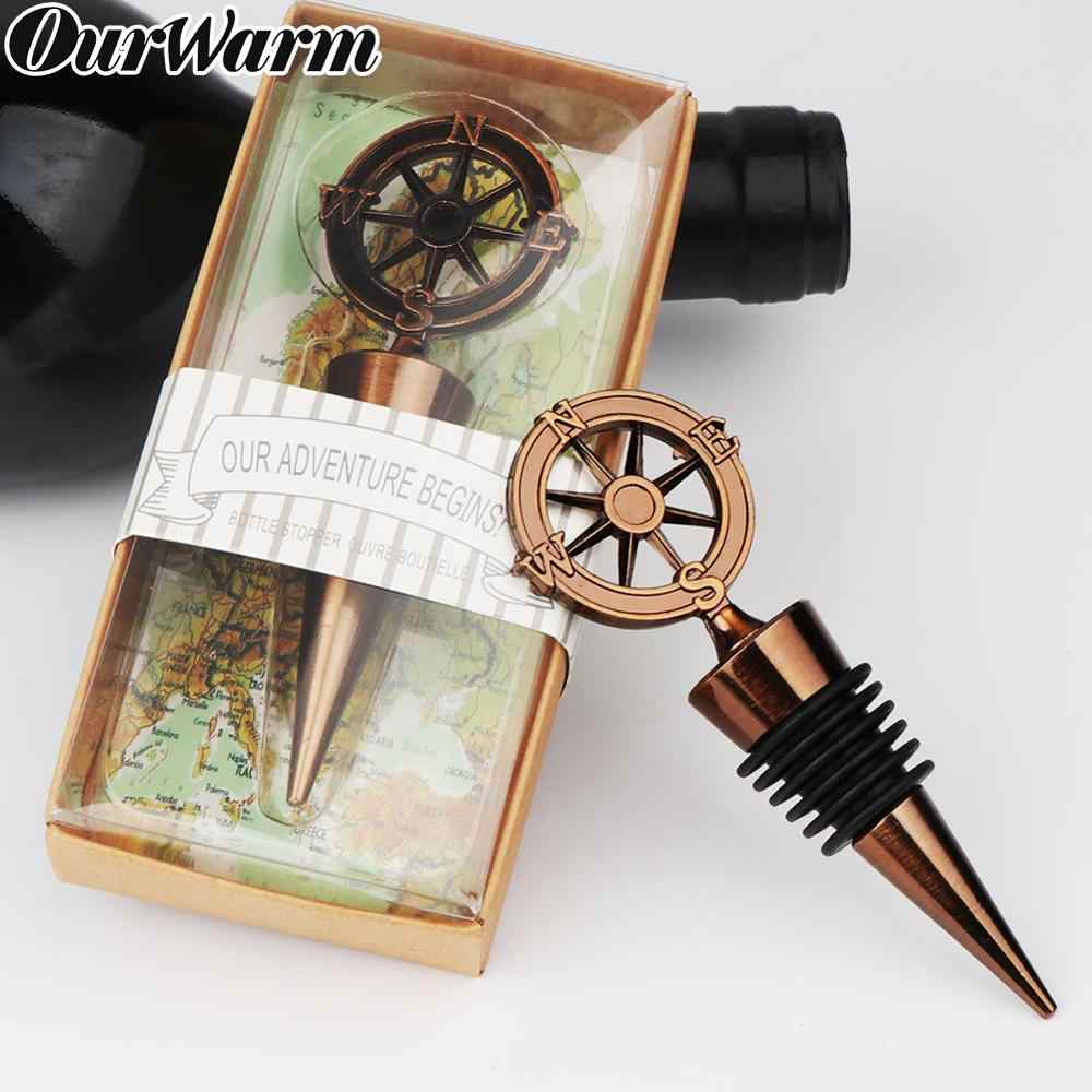 Ourwarm 20pcs Bronze Bottle Stopper