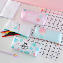 1pcs/pack Korean Version Of The Small Fresh Pencil Case Flamingo Storage Bag School Supplier Gifts Four Selections