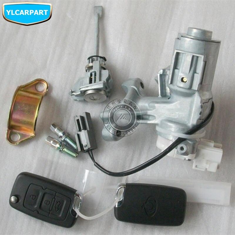 Pour Geely GC7, kit de cylindre de serrure de porte de voiture