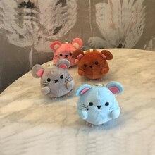 8CM New Designs Mouse Animal Stuffed Plush Toys Key chain Plush Toy Dolls
