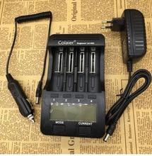 Зарядное устройство Colaier, зарядное устройство для аккумулятора с ЖК дисплеем, 3,7 В, 1,2 В, 18650, 26650, 16340, 14500, 10440, 18500, C40, C20,