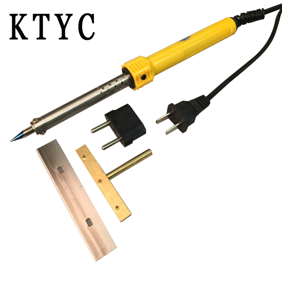 LOCA Glue Clean Tool 60W 80mm Soldering iron with T-Type Solder Iron Tip Blade Glue Remove LCD Screen Separator Repair does irrelevant information influence judgment