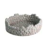 Round Cement Molds Handmade Craft Home Decoration Flowerpot Molds Concrete Planter Garden Bonsai Decoration Tools