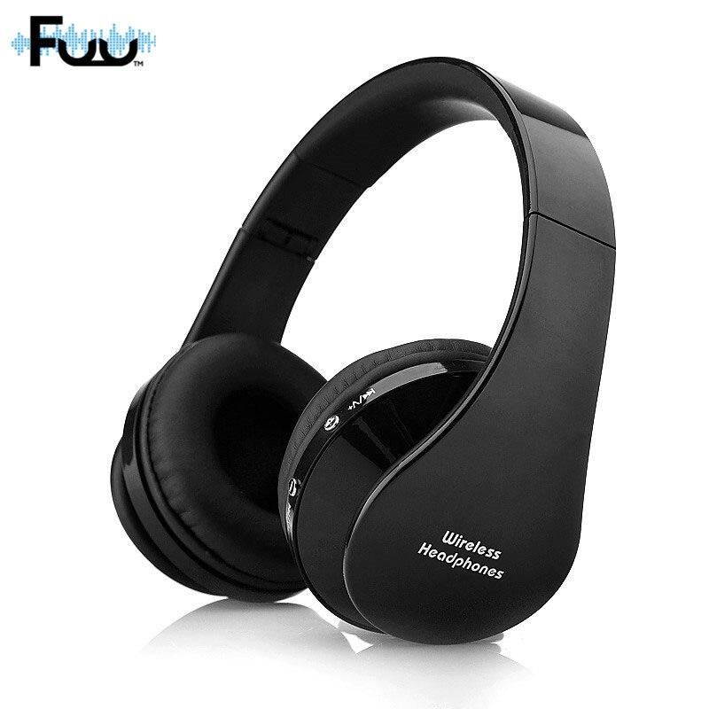 NX8252 Foldable Headband Stereo Bluetooth Wireless Earphones Headphones Headset With Mic Super Bass Four Colors