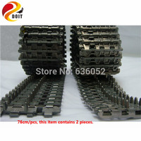 DOIT 2pcs Tank Chassis Chain Mental Track Caterpillar Tracking Robot UNO R3 1280 DIY RC Toy Starter KIT Learning Board