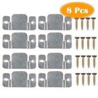 8 pcs Sofá Secional Móveis Conector de Bloqueio com Parafusos de Metal|Armação p/ móveis| |  -