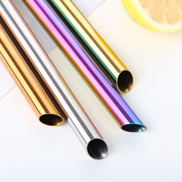 Stainless Steel 12mm Drinking Straw