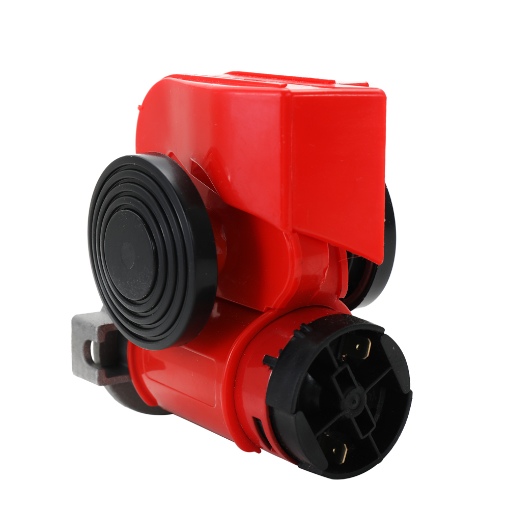 Compact Air Loud Auto Car Motorcycle Truck Horns Yacht Boat Dual Tone Electric Pump Motorbike Horn