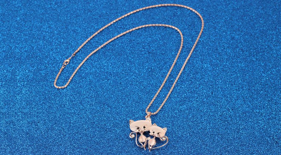 Stylish Cats Designer Necklace