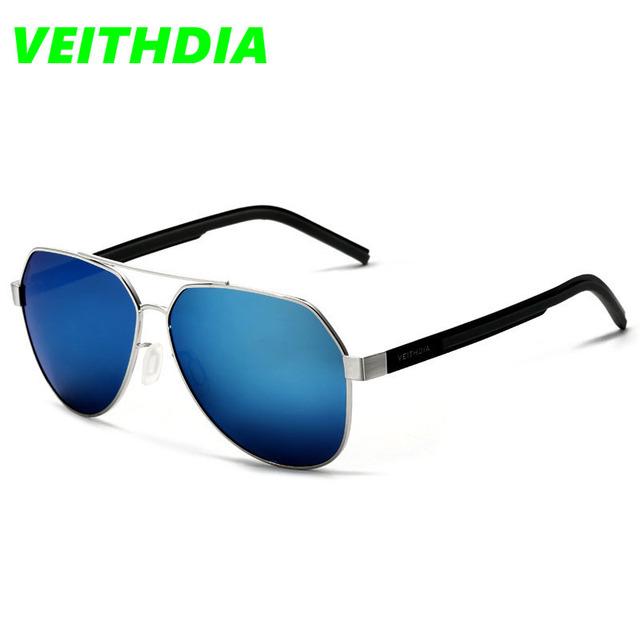 VEITHDIA Мужчины Прохладный Солнцезащитные очки Тонкие Очки Мужской Овальной HD Вождения Goggle Очки Аксессуары Óculos De Sol V3556
