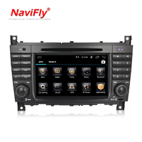 free shipping Android 8.1 Quad core Car radio stereo GPS Player For Benz C Class W203 2004 2007 c200 CLK W209 TDA7851 WIFI BT