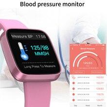חכם צמיד מסר שיחת תזכורת סרטי זרוע כושר פעילות Tracker לב צמידי דם לחץ דם חמצן צג חם