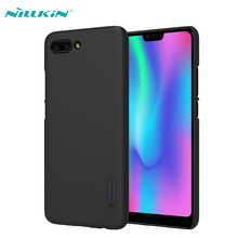 Case For Huawei Honor 10 Cover Original NILLKIN Super Frosted Shield Hard PC Cases For Huawei Honor 10 Mobile Phone Back Cover цена и фото