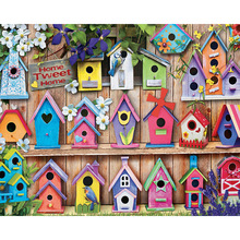 Diy diamond painting full 5d small bird nest embroidery resin drill cross stitch  Decoration