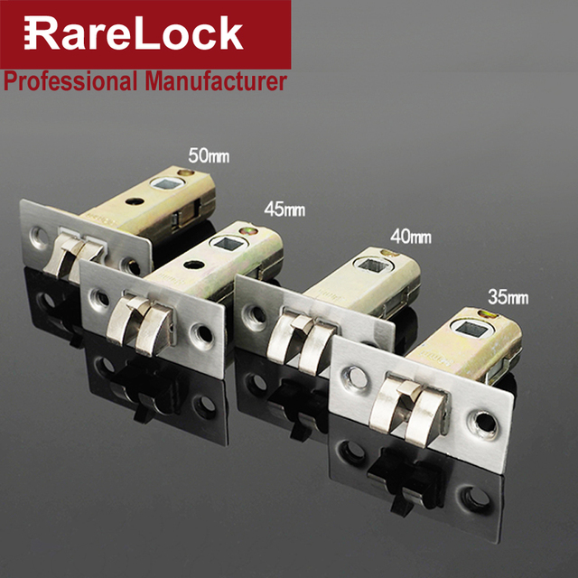 Rarelock Christmas Supplies Zinc Alloy Door Lock Cylinder Bathroom Bedroom  Interior Locks Office Door Lock Hardware