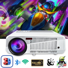 Poner Saund 4800 Lumens WIFI 3D Home Theater 1280×800 PC Multimedia 1080P HD Video HDMI USB Portable LCD LED Projector proyector