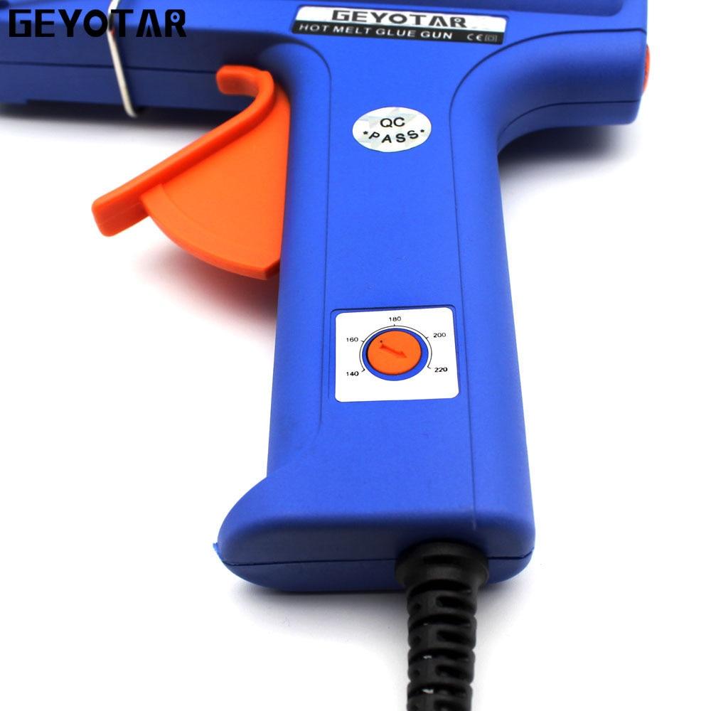 Pistola per colla a caldo hot plug 150W EU con strumento di - Utensili elettrici - Fotografia 3
