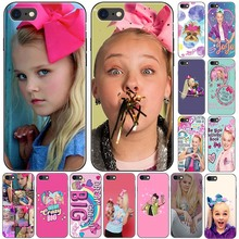Jojo Siwa Top Girls Power Boomerang Phone Case for iPhone X 7 7s 11 12Mini Pro MAX 8 plus Xs XR Max SE Cover Silicone For GIRLS