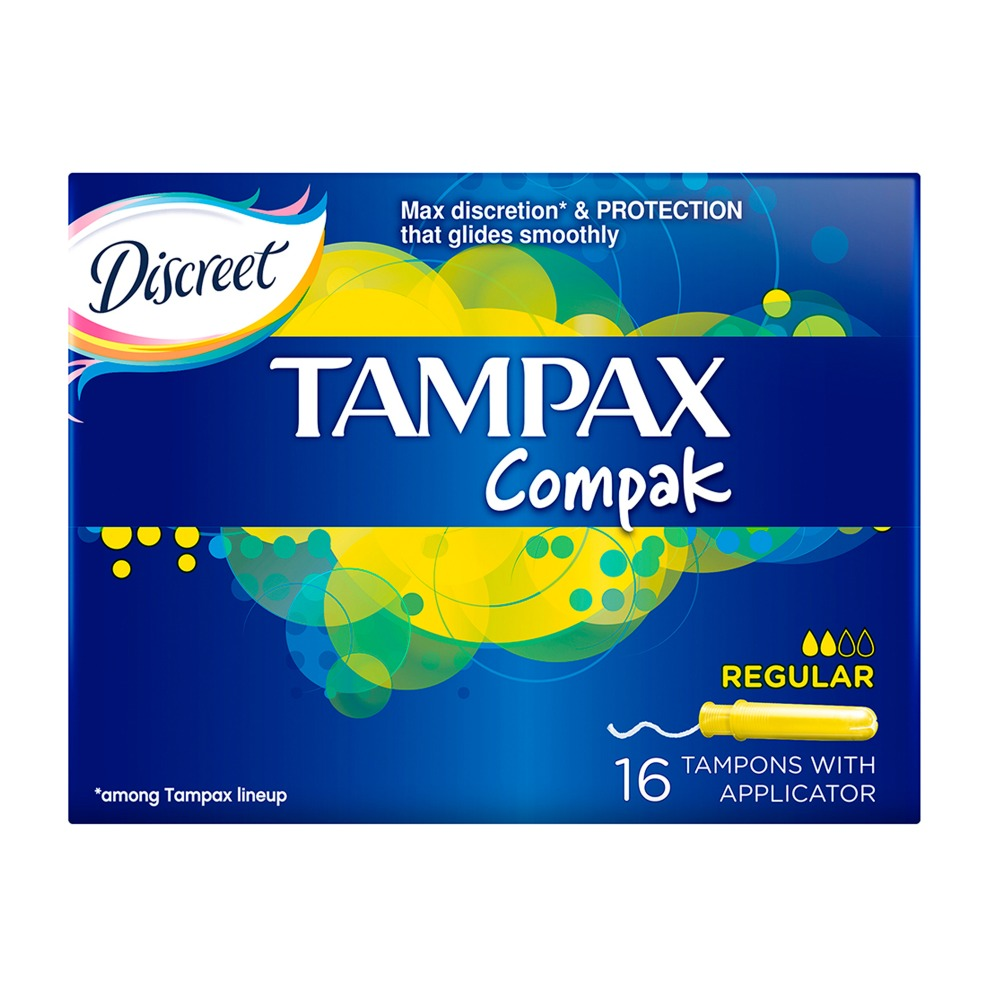 TAMPAX Compak Female sanitary napkins with Applicator Regular Duo 16 pcs 3 5mm trs female to 2 x rca female adapters 5 pcs