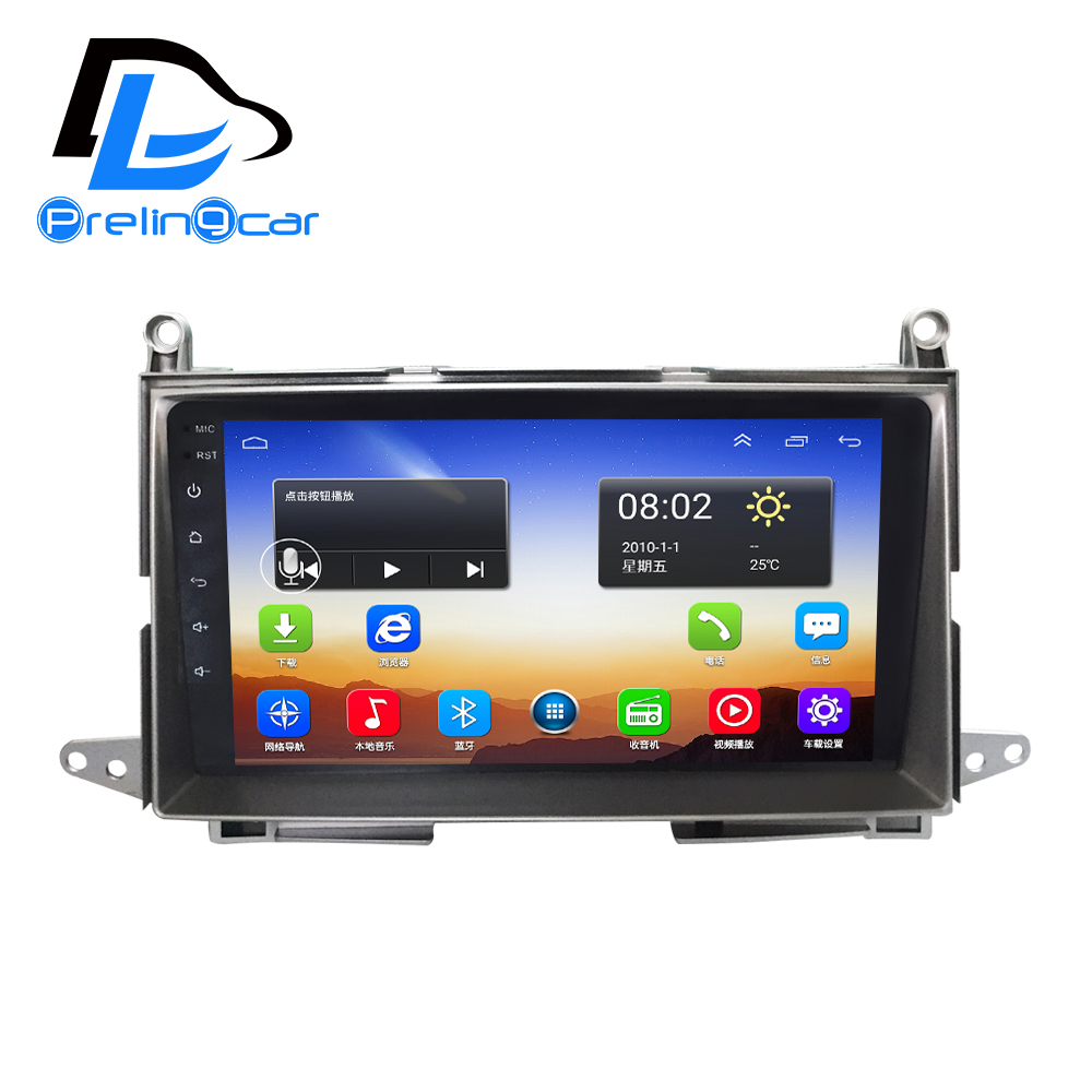 4G LTE net navigation player android 6 0 system stereo For Toyota Vista venza 2009 2013
