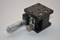Z - axis déplacement stade de levage manuel plateforme de syntonisation fine croix glissière de Table 40 * 40 mm LZ40