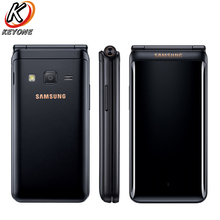 Model New Unique Samsung Galaxy Folder 2 G1650 LTE  Cell Telephone 3.8″ 2GB RAM 16GB ROM Quad Core 8.0MP Twin SIM Flip CellPhone