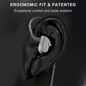 Image 4 - RevoNext NEX202 in Ear Monitor,Dual Driver Headphones 1DD+1BA Aluminum Alloy housing HiFi Earbuds, Upgraded Detachable Cables