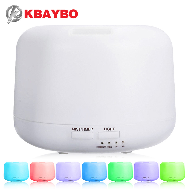 Ultrasonic Aromatherapy Humidifier Essential Oil Diffuser Air Purifier for Home Mist Maker Aroma Diffuser Fogger LED Light 300ML ultrasonic humidifiers aroma vaporizer essential oil diffuser led light for home air purifier aromatherapy diffusers mist maker