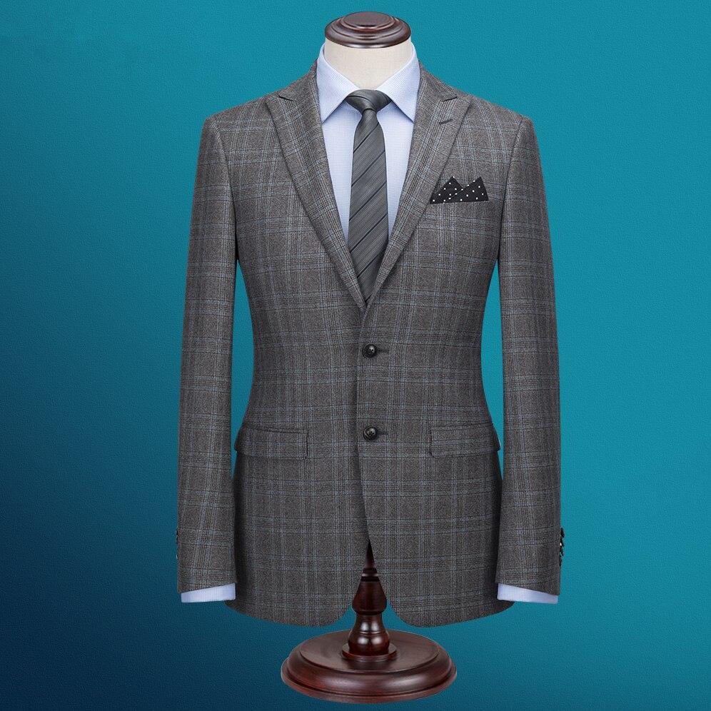 Custom Made Men\'s Wedding Suits Slim Fit Suits Men Notch Lapel ...