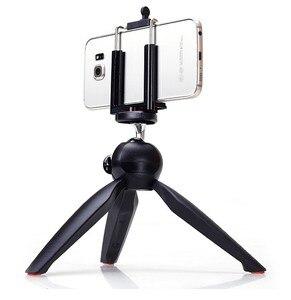 Image 2 - Photo YT 228 YUNTENG 228 Mini Tripod+Phone Holder Clip Desktop Tripod Digital Camera phone DV Gopro