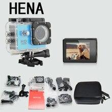 HENA Sports DV Mini Cameras 1080P 15FPS 720 HD + 1 Case bag for Gopro Waterproof 30M Sport Action Camera Helmet Cam Mini Camcord