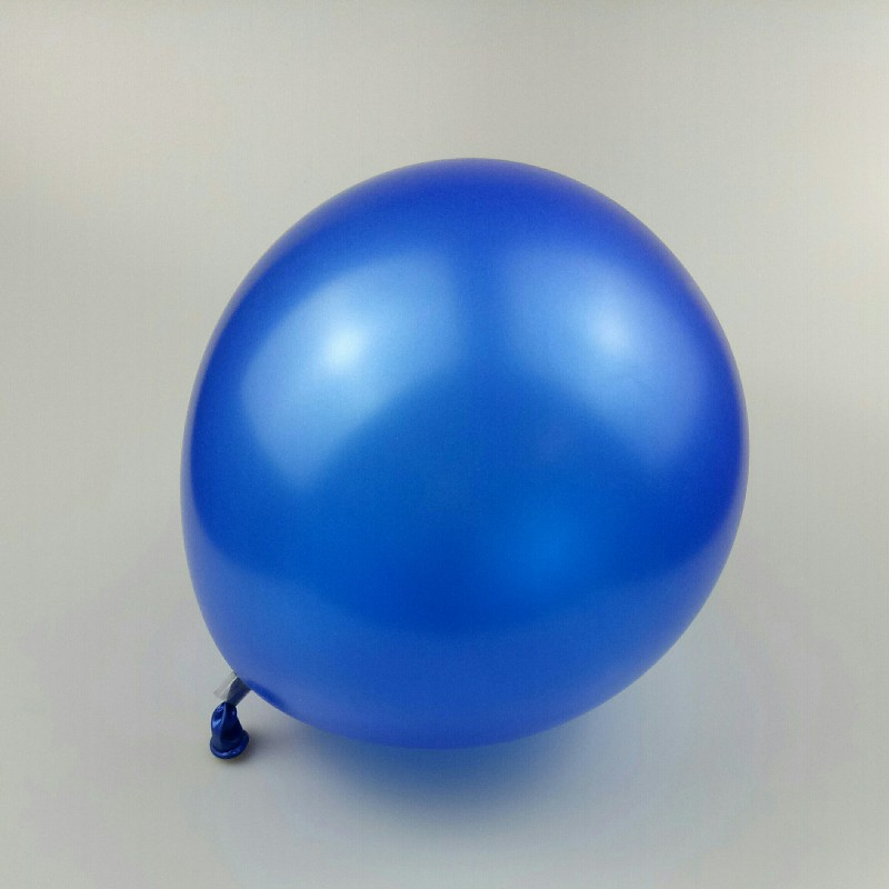 blue balloons 50pcs 12 inch thick spherical latex balloons happy new year decoration 2019 balloon party happy birthd decorations in Ballons Accessories from Home Garden