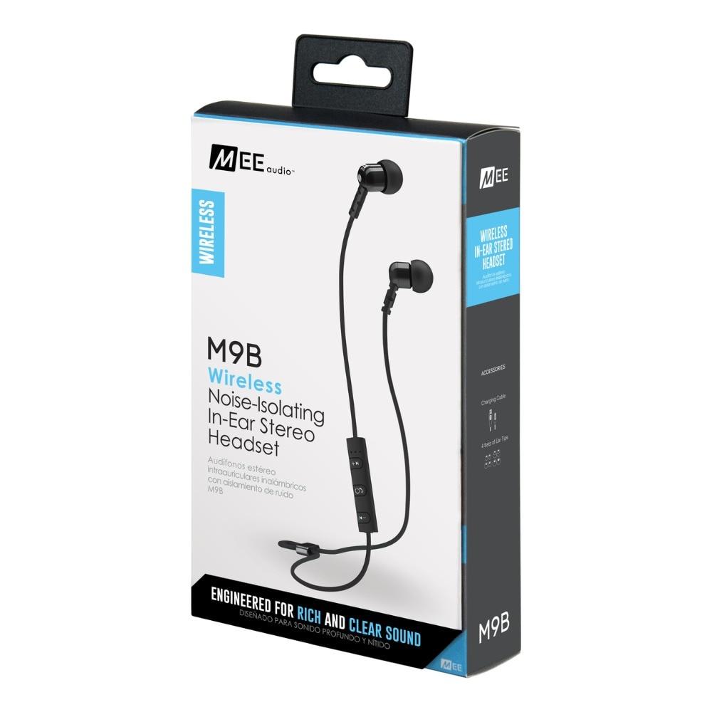 все цены на  Newest MEE Audio M9B Wireless Noise Isolating In Ear Stereo Headset Bluetooth Earphones Handfree Sports Headphones With Mic  онлайн